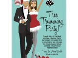 Tree Trimming Party Invitations Tree Trimming Party African American Invitations Paperstyle