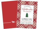 Tree Trimming Party Invitations Tree Trimming Party Printable Invitation Christmas Winter