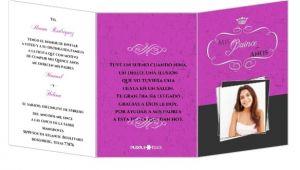 Tri Fold Quinceanera Invitations Fabulous Pink and Gray Tri Fold Quinceanera Invitation