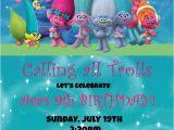 Trolls Birthday Invitation Template Trolls Birthday Invitation Invitations Birthday Trolls