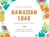 Tropical Party Invitation Template Customize 102 Luau Invitation Templates Online Canva