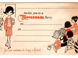Tupperware Party Invitations Tupperware Party for Bridal Shower Tupperware
