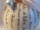 Turn Wedding Invitation Into ornament Personalized Wedding ornament Wedding Invitation ornament