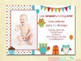 Turning 3 Birthday Invitation Quotes Owl Birthday Boy Invitation First Birthday 1 2 3