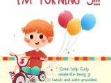 Turning 3 Birthday Invitation Quotes Whee I Am Turning 3 Free Birthday Invitation Template