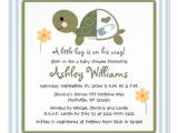 Turtle Invitations for Baby Shower Turtle Baby Shower Invitations — Unique Baby Shower Favors