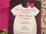 Tutu and Tiara Baby Shower Invitations Pinterest Discover and Save Creative Ideas