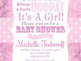 Tutu and Tiara Baby Shower Invitations Tiaras and Tutus Girls Baby Shower Invitations Pr 2