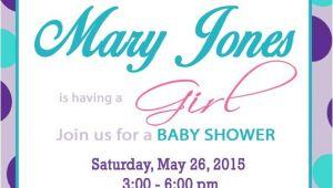 Tutu and Tiara Baby Shower Invitations Tutus and Tiaras Baby Shower Invitation Purple and Teal Diy