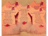 Tutu themed Baby Shower Invitations Tutu Invitations for Tutu themed Baby Shower or by
