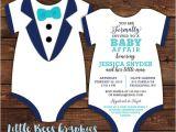 Tuxedo Baby Shower Invitations Items Similar to 10 Tuxedo Baby Shower Invitations Black