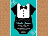 Tuxedo Baby Shower Invitations Tuxedo Baby Shower Invitation by Adtrcustomdesigns $10 00