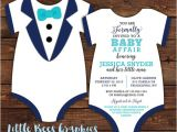 Tuxedo Onesie Baby Shower Invitations Items Similar to 10 Tuxedo Baby Shower Invitations Black