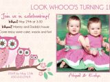 Twin Girl Birthday Party Invitations Twins Birthday Invitations Best Party Ideas