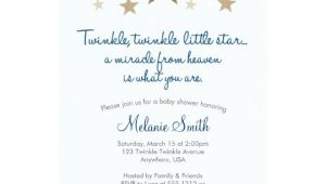 Twinkle Twinkle Little Star Baby Shower Invitation Wording Twinkle Twinkle Little Star Baby Shower Invitation