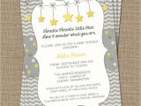 Twinkle Twinkle Little Star Girl Baby Shower Invitations Chandeliers & Pendant Lights