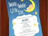 Twinkle Twinkle Little Star Girl Baby Shower Invitations Twinkle Twinkle Little Star Baby Shower by Dizzydesignstudio