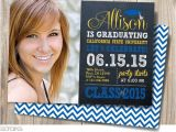 Two Sided Graduation Party Invitations Graduation Invitation Graduation Chalkboard Double Sided