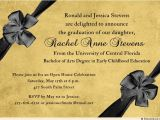 Ucf Graduation Invitations formal Open House Invitation Gold Charcoal Gray Graduate 39 S