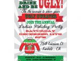 Ugly Christmas Sweater Party Invites Ugly Sweater Christmas Party Invitations Zazzle