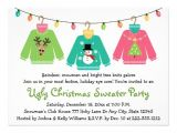 Ugly Sweater Party Invitation Poem Ugly Christmas Sweater Party Invitations 14 Cm X 19 Cm