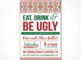 Ugly Sweater Party Invite Template Free Printable Ugly Christmas Sweater Party Invitations