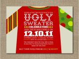 Ugly Sweater Party Invites Ugly Christmas Sweater Party Invite Idea Christmas Xmas