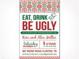 Ugly Sweater Party Invites Ugly Sweater Party Invitation – Charming Printables