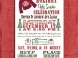 Ugly Xmas Sweater Party Invites Holiday Christmas Ugly Sweater Party Invitation 4×6
