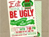 Ugly Xmas Sweater Party Invites Ugly Sweater Invitations Christmas Party Diy