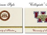 Uh Graduation Invitations Welcome to the Signature Announcements College Graduation