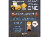 Under Construction Birthday Party Invitations Under Construction Chalkboard Birthday Invitation Zazzle