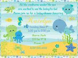Under the Sea Baby Shower Invitation Templates Design Under the Sea Baby Shower Invitations