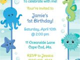 Under the Sea Birthday Invitations Free Under the Sea Birthday Invitation Boy by Anchorbluedesign