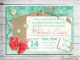 Under the Sea Bridal Shower Invitations Items Similar to Under the Sea Baby Bridal Shower
