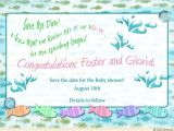 Underwater Baby Shower Invitations Underwater Fish Baby Shower Invitation Splish Splash Fun