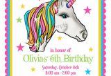 Unicorn Birthday Invitation Templates Unicorn Invitations Unicorn Birthday Party Invitations