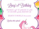 Unicorn Birthday Invites Free 9 Best Of Free Printable Unicorn Invitations