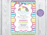Unicorn Party Invitation Wording Rainbow Unicorn Birthday Unicorn Invitation Unicorn