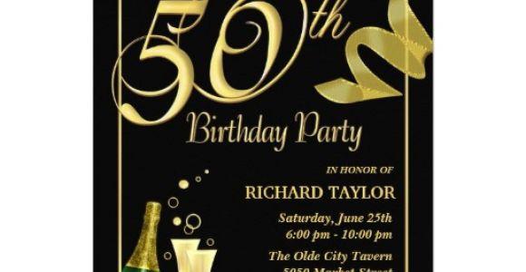 Unique 50th Birthday Invitation Ideas Unique Ideas for 50th Birthday Invitations Designs