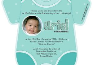 Unique Baptismal Invitation for Baby Boy Baptism Invitation Template Baptism Invitation Template