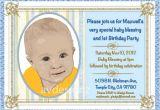 Unique Baptismal Invitation for Baby Boy Personalized Baptism Invitation Baby Boy