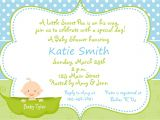 Unique Boy Baby Shower Invitations Boy Baby Shower Invitation