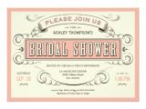 Unique Bridal Shower Invites Unique Vintage Bridal Shower Invitations