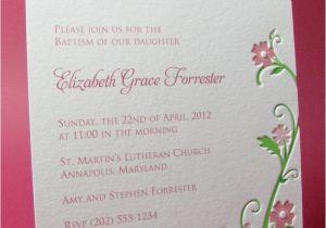 Unique Invitation for Baptism Unique Baptism Invitations