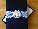 Unique Luxury Wedding Invitations Adorned with Embellishments Black Tie Wedding Invitation Box with A Vintage Feel
