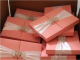 Unique Luxury Wedding Invitations Adorned with Embellishments Douppioni Silk Boxed Invitations