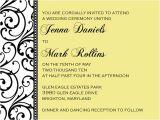 Unique Wedding Invitation Wording Sample Wedding Invitations Template Best Template Collection