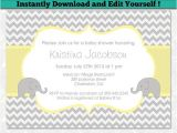 Unisex Baby Shower Invites Templates 12 Best Editable Baby Shower Invitation Templates Images