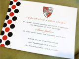 University Graduation Invitation Wording Graduation Announcements Customized with Your School Colors
